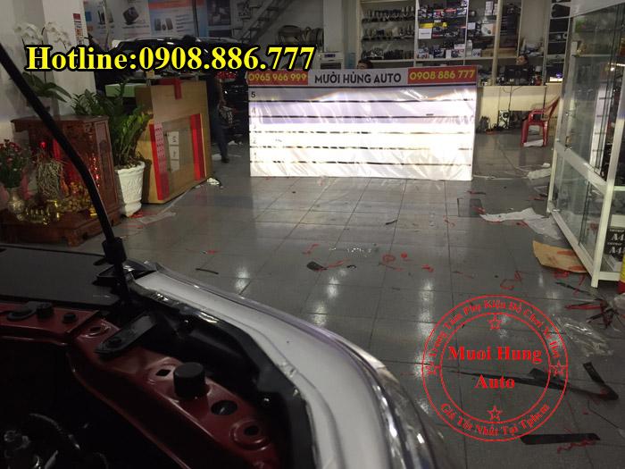 Độ Đèn Led Xe Toyota Hilux 2016, 2017 01