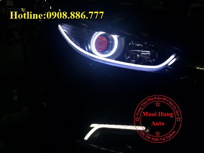 Độ Đèn Mắt Quỷ Mazda 3 2016, 2017