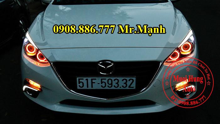 Độ Đèn Mazda 3 Chuyên Nghiệp Tại Tphcm 01