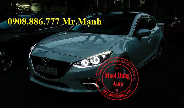 Độ Đèn Mazda 3 Chuyên Nghiệp Tại Tphcm 02