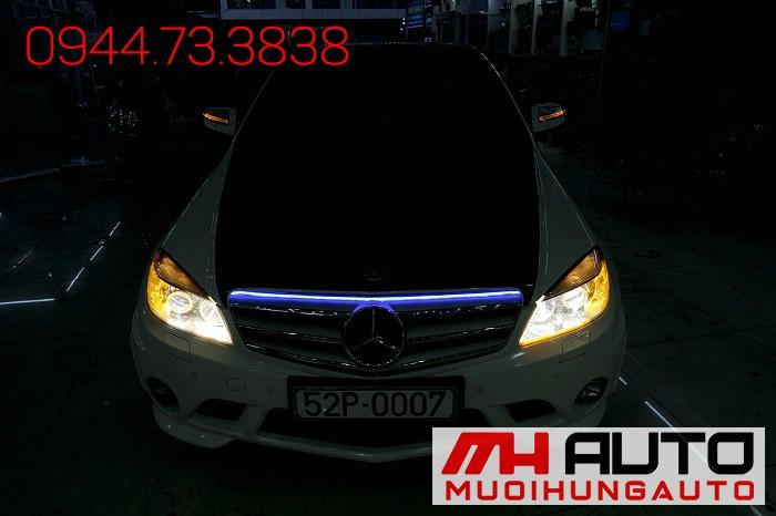 Độ Đèn Mercedes C200 Tăng Sáng Cực Đẹp 04