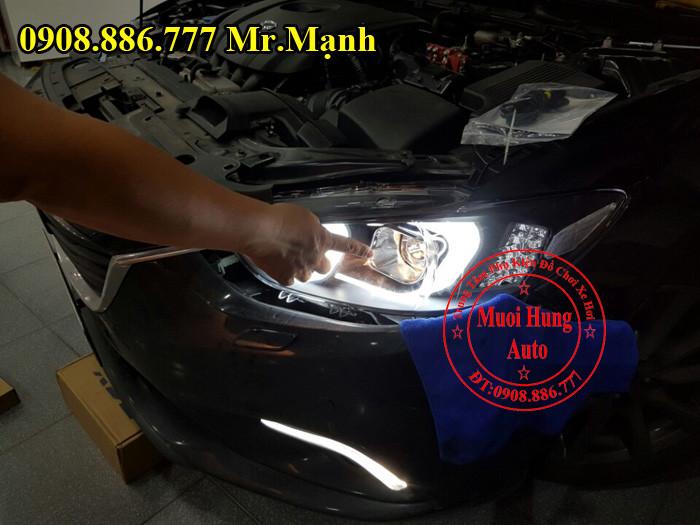 Độ Đèn Pha Xe Mazda 6 Tại Tphcm 01