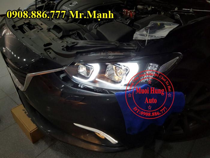 Độ Đèn Pha Xe Mazda 6 Tại Tphcm 02