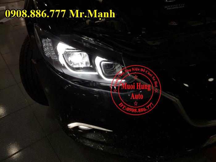 Độ Đèn Pha Xe Mazda 6 Tại Tphcm