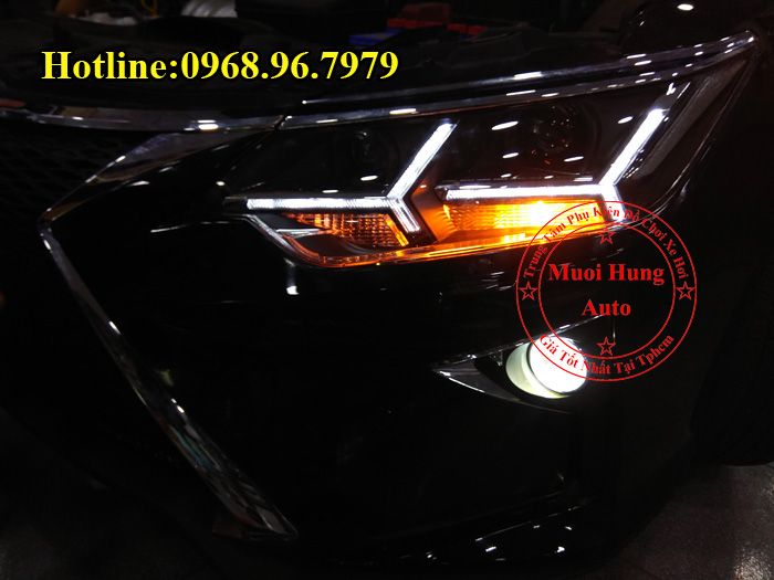 Độ Đèn Toyota Camry 2016, 2017 Kiểu Lexus 01