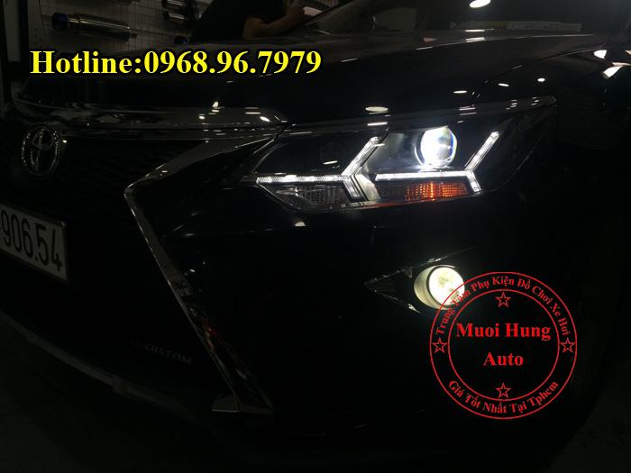 Độ Đèn Toyota Camry 2016, 2017 Kiểu Lexus 02