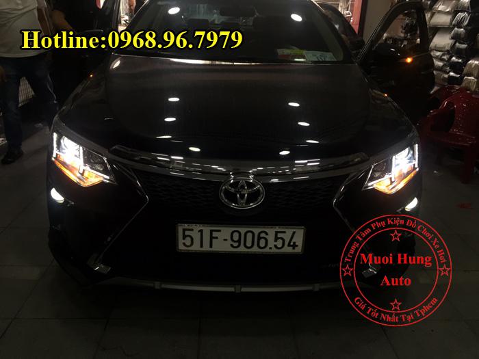 Độ Đèn Toyota Camry 2016, 2017 Kiểu Lexus 03