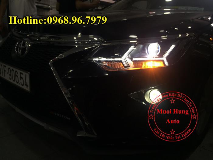 Độ Đèn Toyota Camry 2016, 2017 Kiểu Lexus