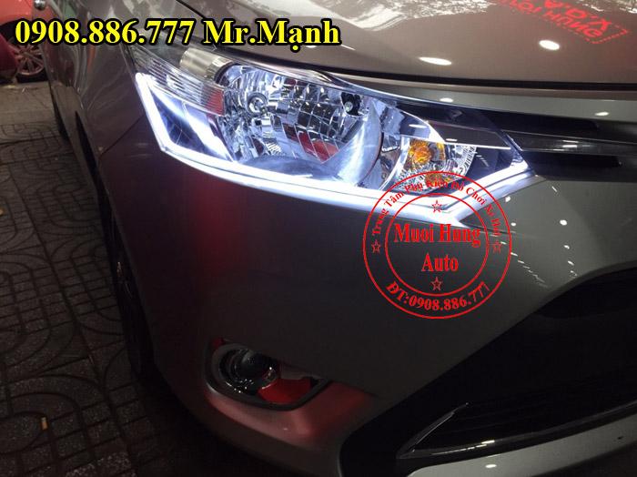 Độ Đèn Toyota Vios 2016, 2017 Tại Tphcm 01