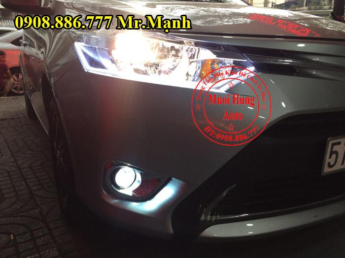 Độ Đèn Toyota Vios 2016, 2017 Tại Tphcm