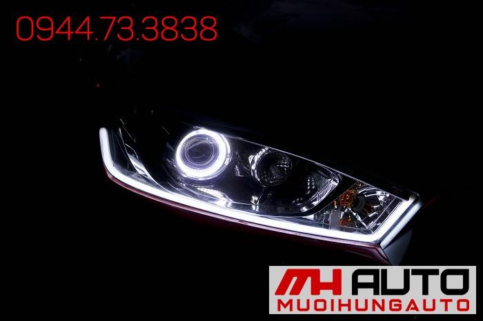 Độ Đèn Toyota Yaris Siêu Đẹp Giá Rẻ 01