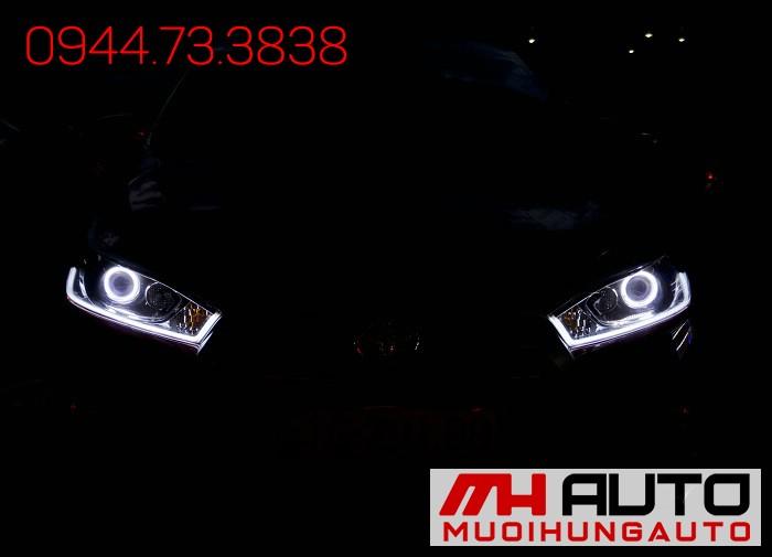 Độ Đèn Toyota Yaris Siêu Đẹp Giá Rẻ 02