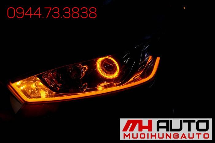 Độ Đèn Toyota Yaris Siêu Đẹp Giá Rẻ 03