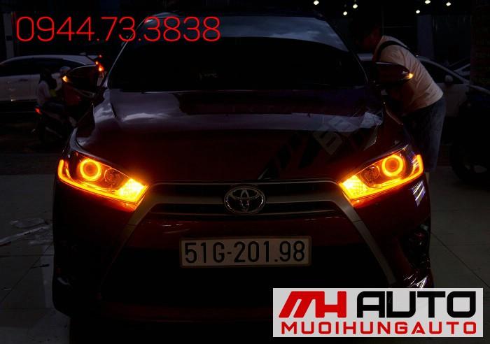 Độ Đèn Toyota Yaris Siêu Đẹp Giá Rẻ 04