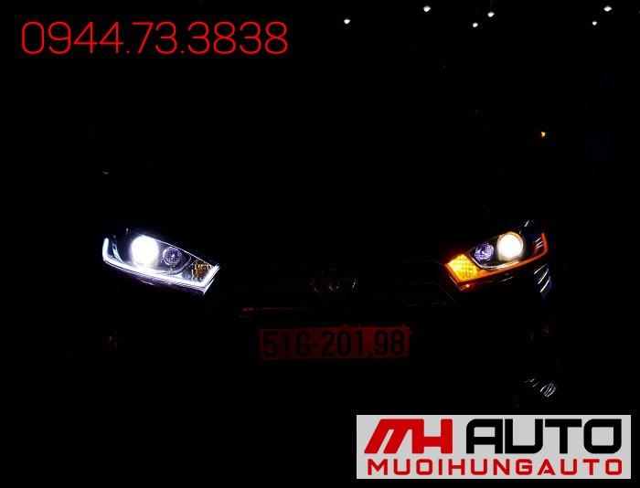 Độ Đèn Toyota Yaris Siêu Đẹp Giá Rẻ 05