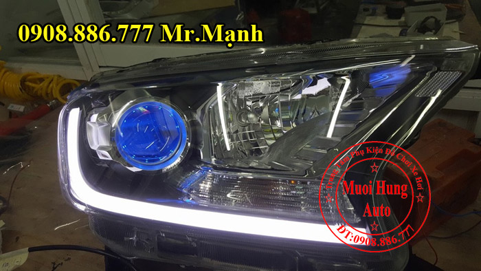 Độ Đèn Xe Ford Ranger Wildtrak Tại Tphcm 01