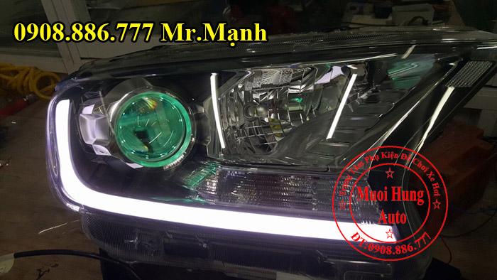 Độ Đèn Xe Ford Ranger Wildtrak Tại Tphcm 03