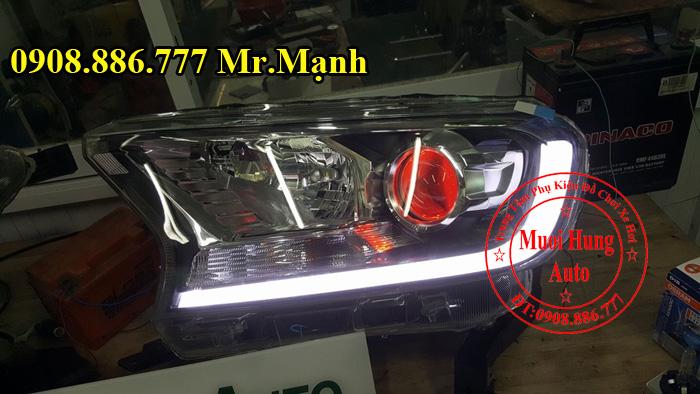 Độ Đèn Xe Ford Ranger Wildtrak Tại Tphcm 04
