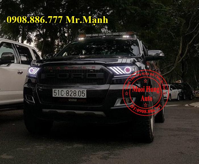 Độ Đèn Xe Ford Ranger Wildtrak Tại Tphcm 05