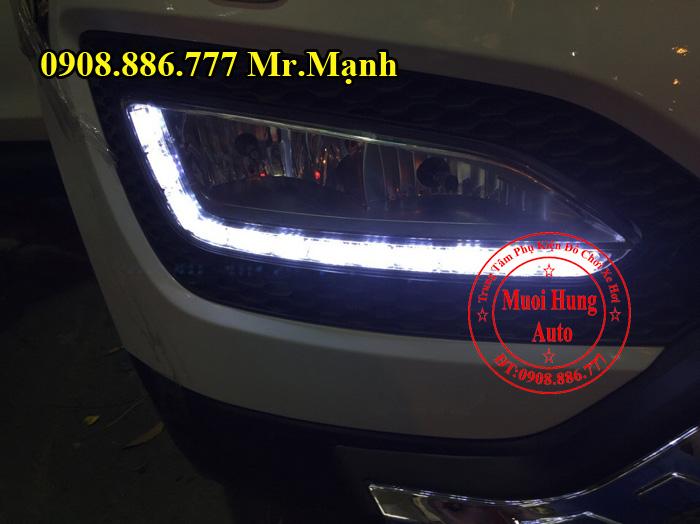 Độ Đèn Xe Hyundai Santafe 2016 Chuyên Nghiệp 01