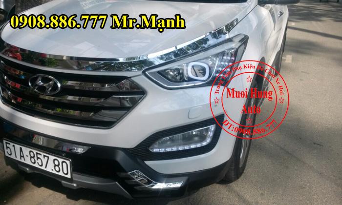Độ Đèn Xe Hyundai Santafe 2016 Chuyên Nghiệp 05