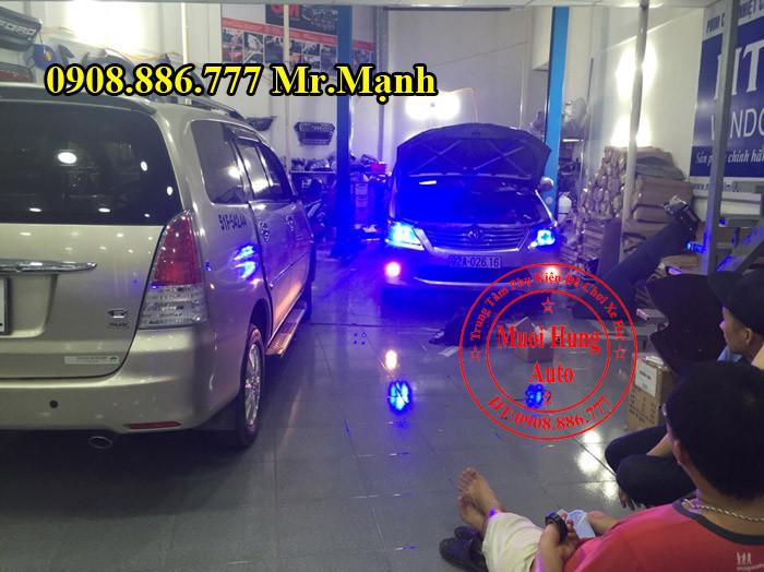 Độ Đèn Xe Toyota Innova Tại TPHCM