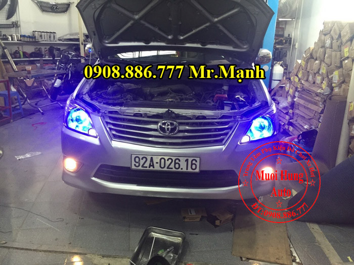 Độ Đèn Xe Toyota Innova Tại TPHCM 01