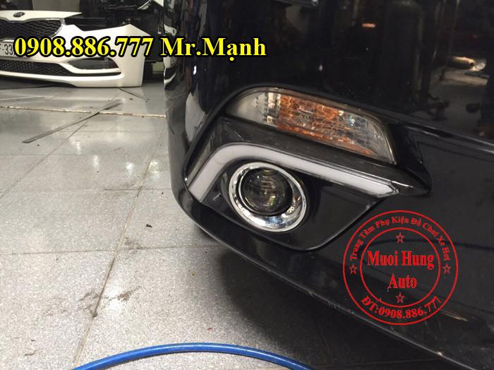 Độ Đèn Xenon, Cản, Gầm Xe Mazda 3 01