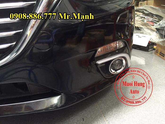 Độ Đèn Xenon, Cản, Gầm Xe Mazda 3 02