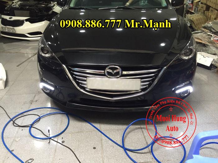 Độ Đèn Xenon, Cản, Gầm Xe Mazda 3 04