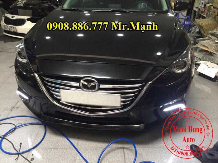 Độ Đèn Xenon, Cản, Gầm Xe Mazda 3