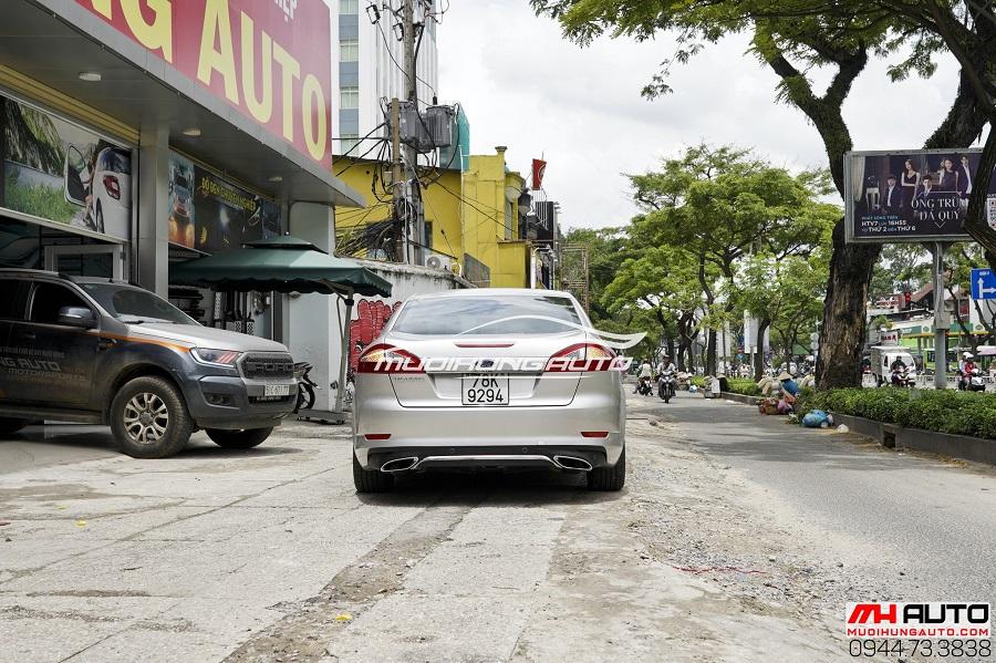 Độ Pô Ford Mondeo Kiểu Mercedes Chuyên Nghiệp 06