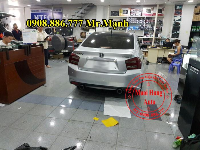 Độ Pô Cho Xe Honda City Tại Tphcm