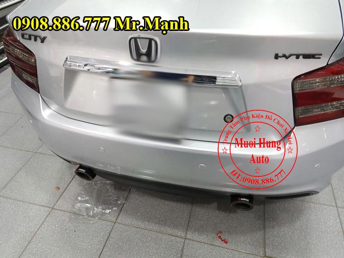 Độ Pô Cho Xe Honda City Tại Tphcm 02