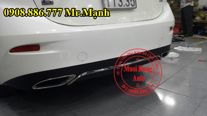 Độ Pô Cho Xe Mazda 3 Kiểu Mercedes