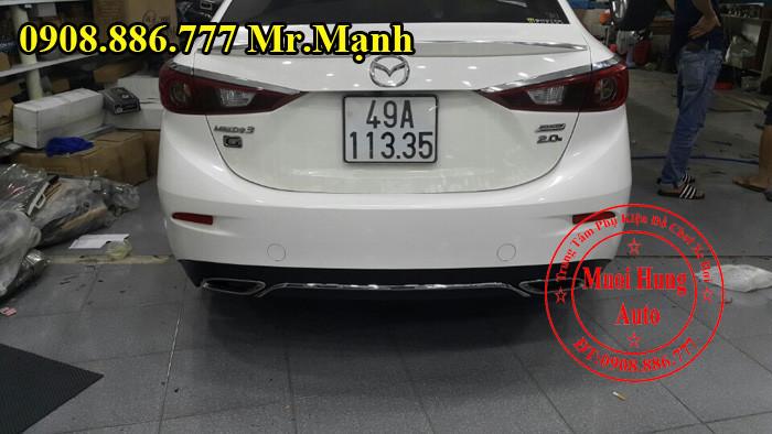 Độ Pô Cho Xe Mazda 3 Kiểu Mercedes 04