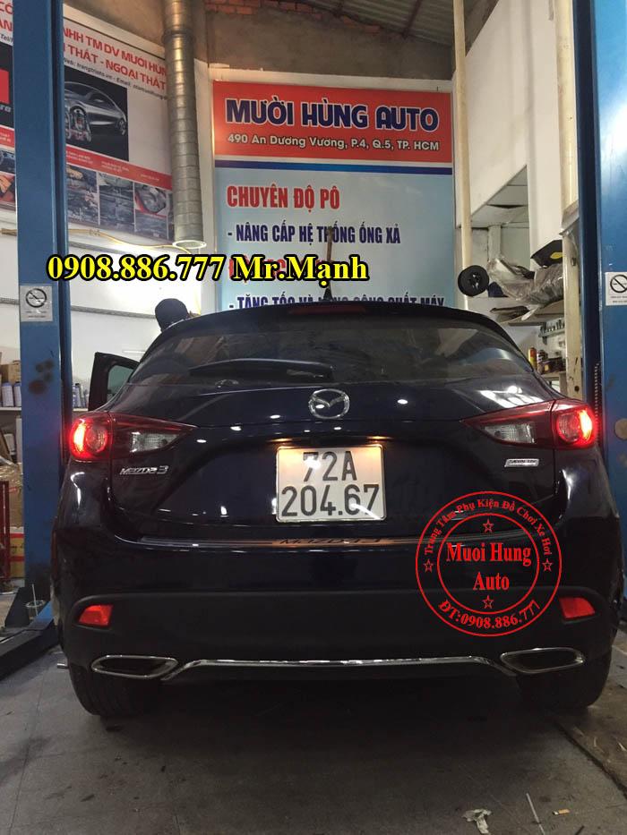 Độ Pô Cho Xe Mazda 3 Tại Tphcm 01