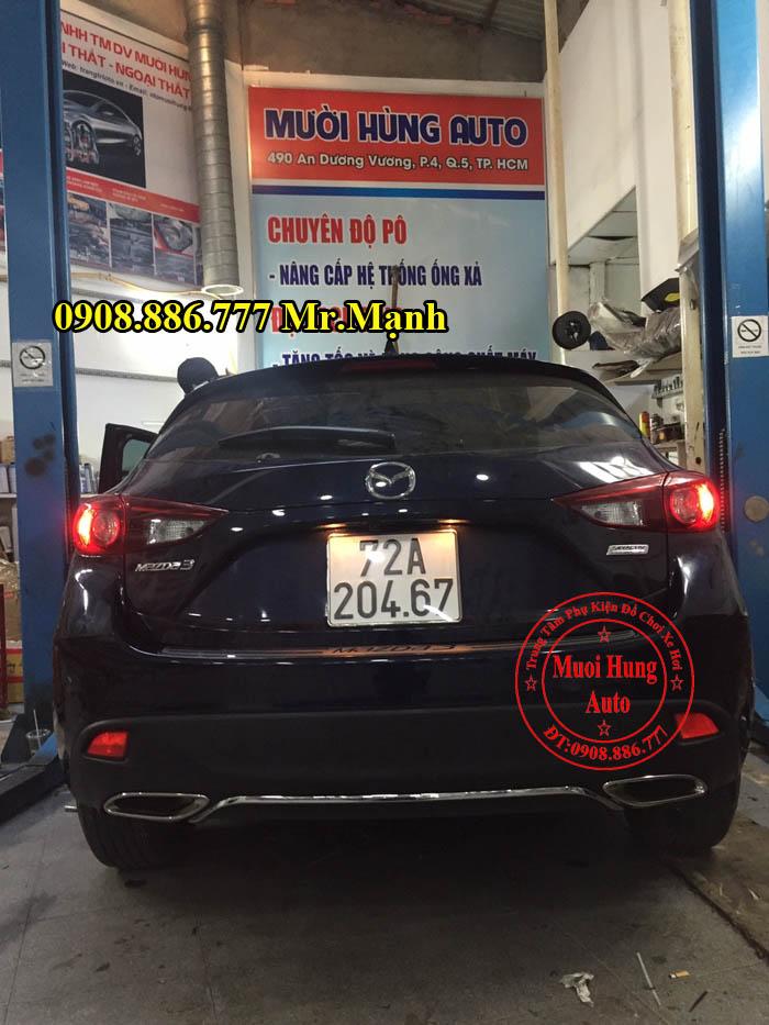 Độ Pô Cho Xe Mazda 3 Tại Tphcm