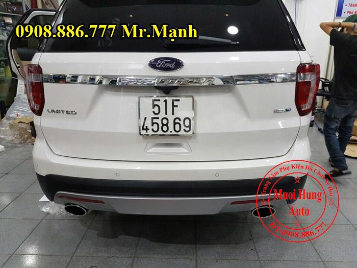 Độ Pô Chuyên Nghiệp Cho Xe Ford Explorer 03