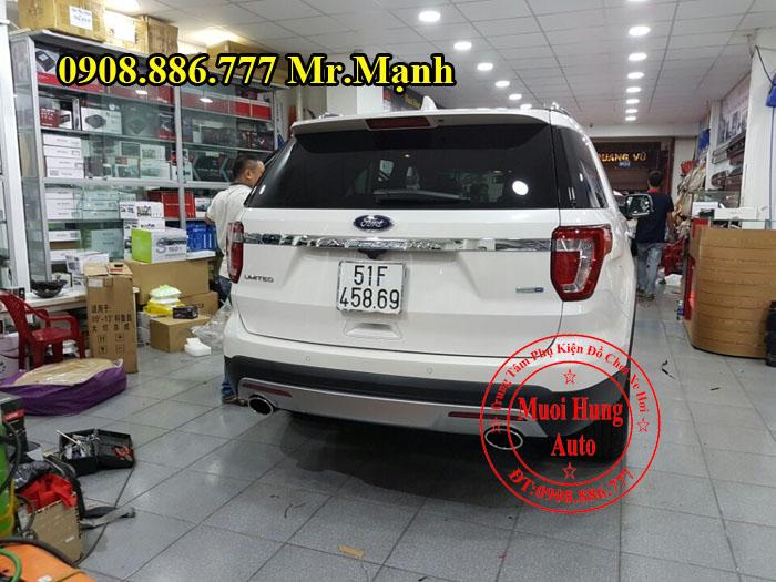 Độ Pô Chuyên Nghiệp Cho Xe Ford Explorer 04