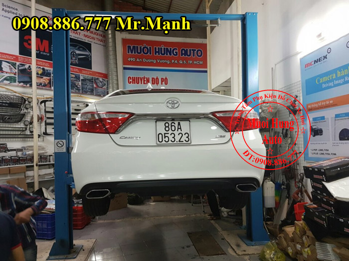 Độ Pô Chuyên Nghiệp Cho Xe Toyota Camry 01