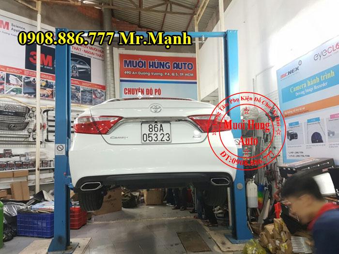 Độ Pô Chuyên Nghiệp Cho Xe Toyota Camry