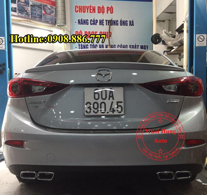 Độ Pô Đôi Thể Thao Xe Mazda 3