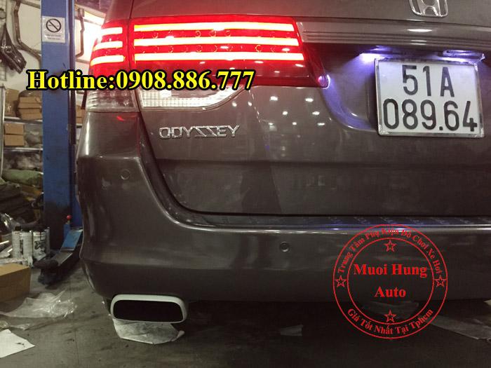 Độ Pô Honda Odyssey Kiểu Porsche Tại Tphcm 02