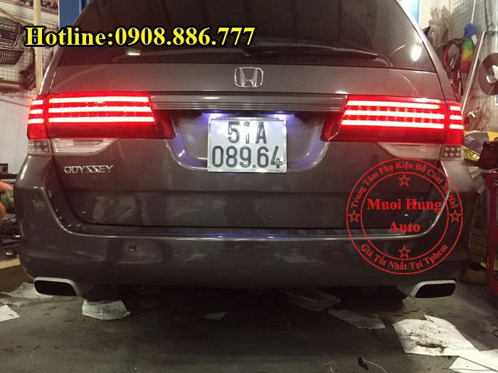 Độ Pô Honda Odyssey Kiểu Porsche Tại Tphcm