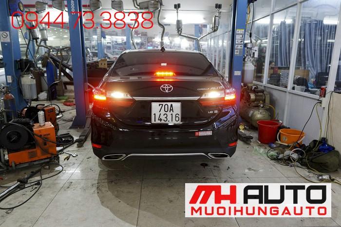 Độ Pô Kiểu Mercedes Cho Xe Toyota Altis 02