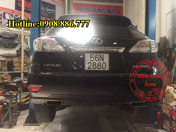 Độ Pô Lexus RX350 Chuyên Nghiệp Tại Tphcm 01