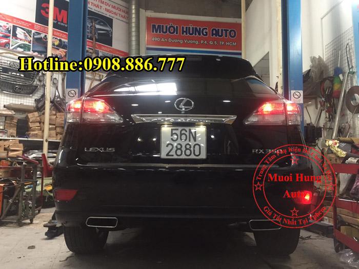 Độ Pô Lexus RX350 Chuyên Nghiệp Tại Tphcm 03
