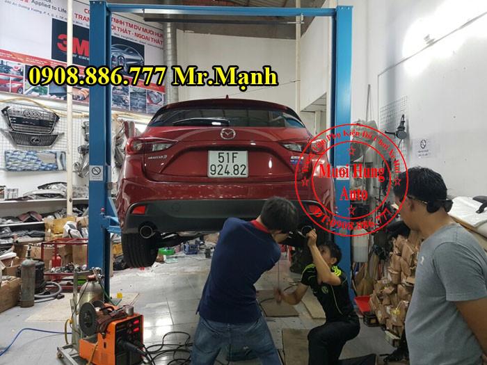 Độ Pô Mazda 3 Chuyên Nghiệp Tại Tphcm 02