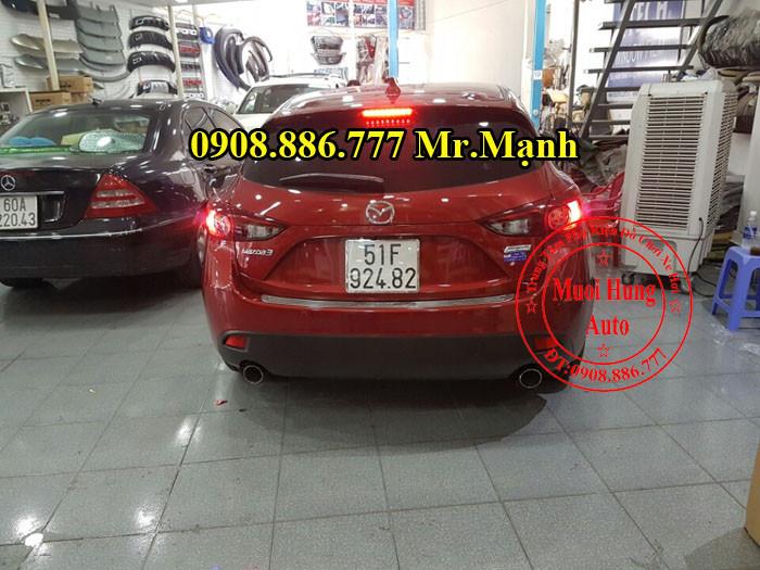 Độ Pô Mazda 3 Chuyên Nghiệp Tại Tphcm